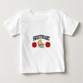 sweet heart girl baby T-Shirt