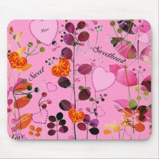 Sweet Heart Mini-Placemat/Mousepad Mouse Pad