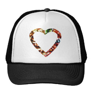 Sweet Heart V4 -  Sparkling Red Series Mesh Hat