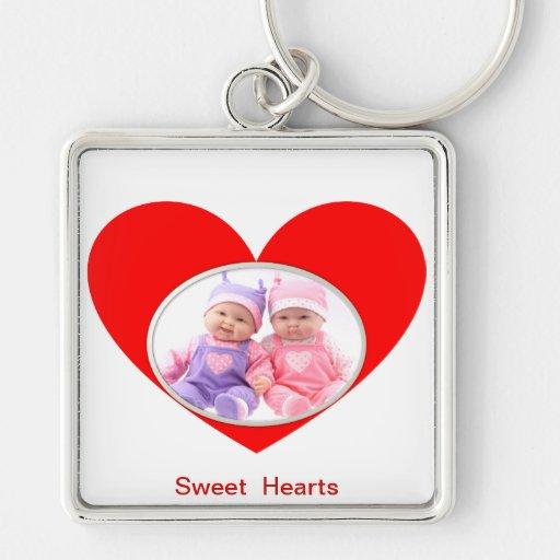 Sweet Hearts Key Chains