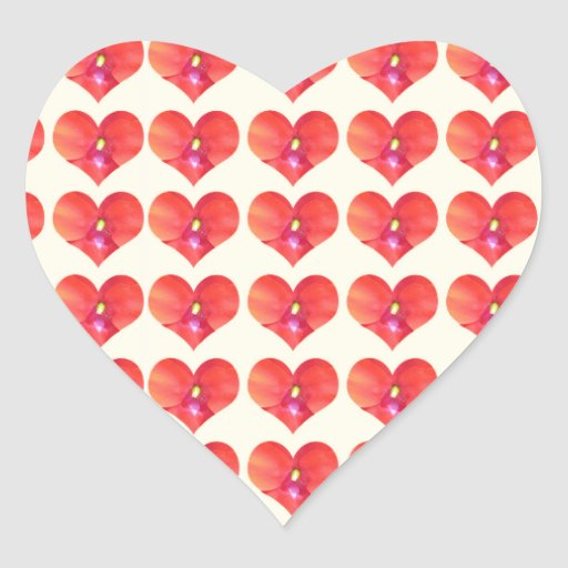 Sweet HEARTS Petal CherryHILL NJ NVN215 NavinJOSHI Sticker