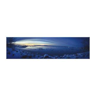 Sweet Home, Alaska Canvas Print