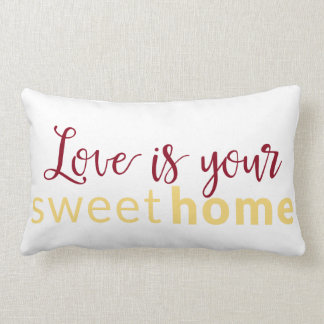 Sweet Home pillow