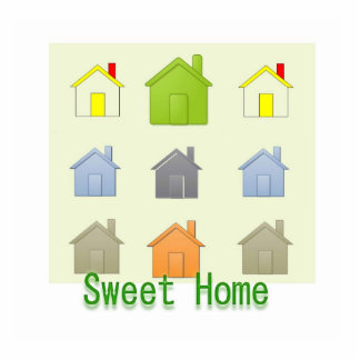 Sweet Home - Real Estate Business Promotion Photo Sculpture Button