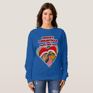 Sweet Honey Christmas Heart Sweatshirt