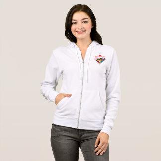 Sweet Honey zipped hoodie