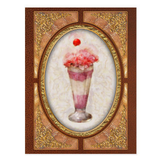 Sweet - Ice Cream - Ice Cream Float Postcard
