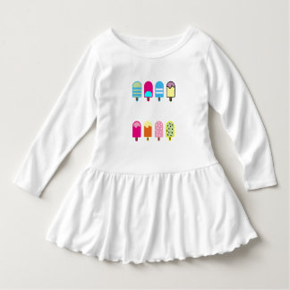 sweet icecream Toddler Ruffle Dress