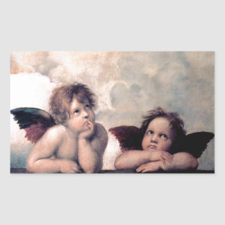 Sweet Italian Angels Renaissance Masterpiece Sticker