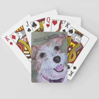 SWEET JACK RUSSELL PLAYING CARDS