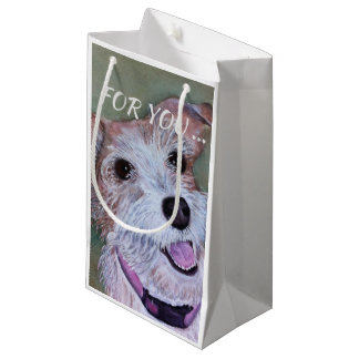 SWEET JACK RUSSELL SMALL GIFT BAG