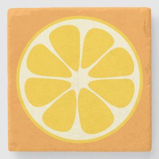 Sweet Juicy Orange Tropical Citrus Fruit Slice Stone Coaster