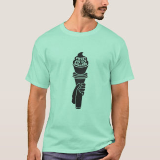 Sweet Justice T-Shirt for Men (mint green)