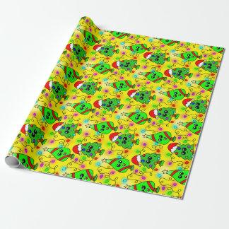 Sweet Kawaii Christmas tree  pattern Wrapping Paper