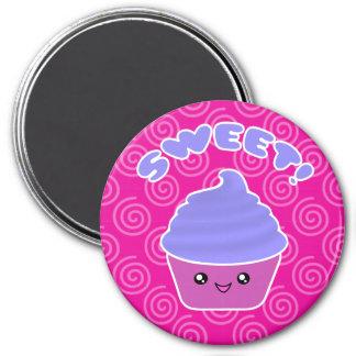 Sweet Kawaii Cupcake Magnet