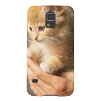 Sweet Kitten in Good Hand Galaxy S5 Case