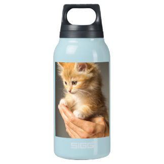 Sweet Kitten in Good Hand Insulated Water Bottle