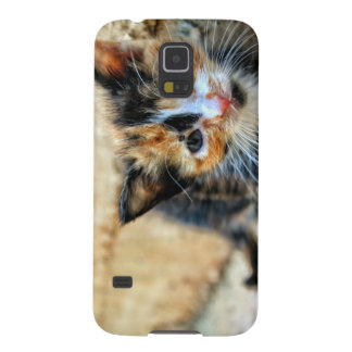 Sweet Kitten looking at YOU Galaxy S5 Case
