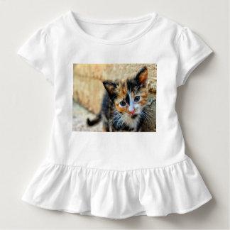 Sweet Kitten looking at YOU Toddler T-shirt