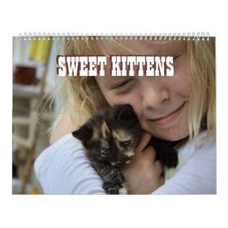Sweet Kittens Wall Calendars