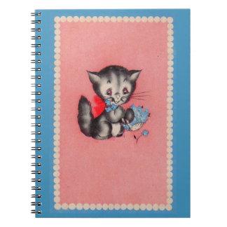 sweet kitty cat notebook