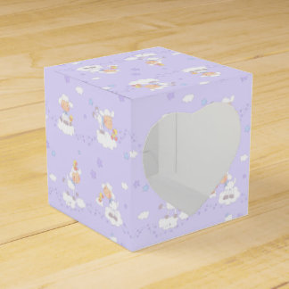 Sweet Lamb on Cloud Party Favor Boxes