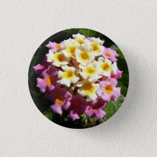 Sweet Lantana Floral Button Pin