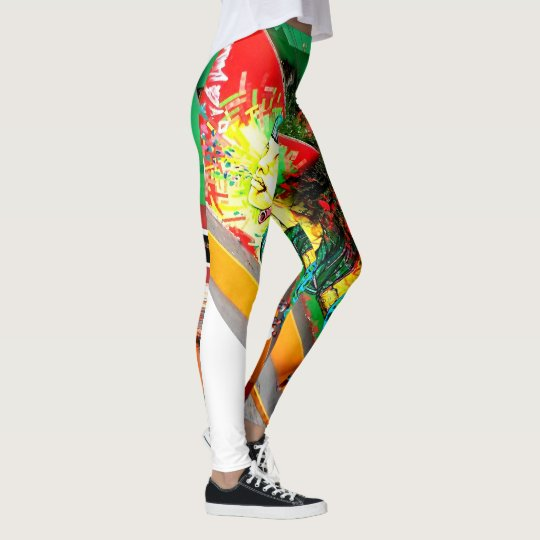 Sweet Legs StreetArt Leggings