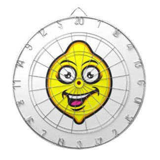 Sweet Lemon Dartboard