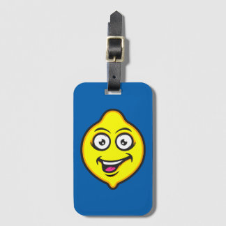Sweet Lemon Luggage Tag