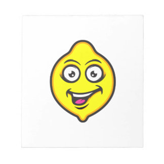 Sweet Lemon Notepad