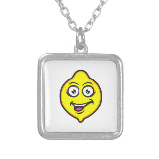 Sweet Lemon Silver Plated Necklace
