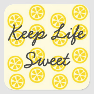 Sweet Lemon Stickers