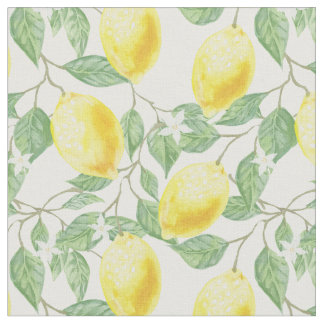 Sweet Lemons Fabric
