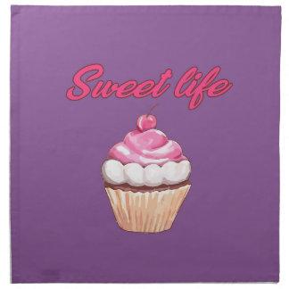 Sweet life napkin