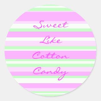 Sweet Like Cotton Candy Sticker