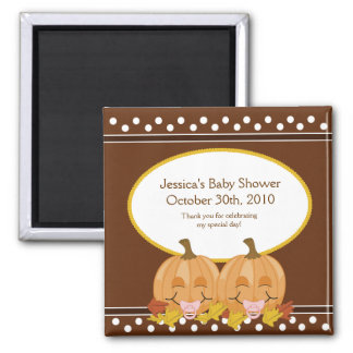 Sweet Lil Pumpkins Baby Shower Magnet Favor