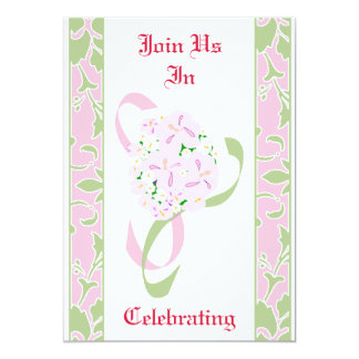 Sweet Lilac, Margarita, Damask Wedding Invitation