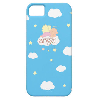 Sweet little angel blue.ai iPhone 5 cases