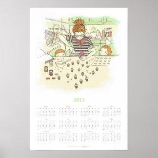 Sweet Little Bites   2015 Poster Calendars