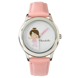 Sweet Little Brunette Ballet Dancer Watch