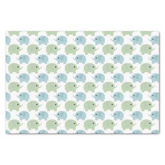 Sweet Little Elephants Tissue Paper