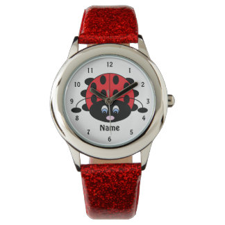 Sweet Little Ladybug Watch