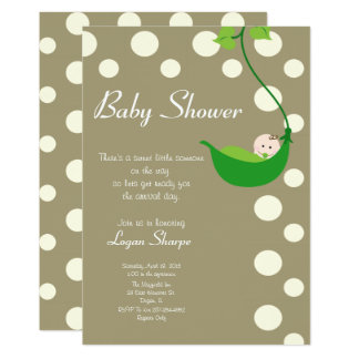 Sweet Little Someone Baby Shower Card