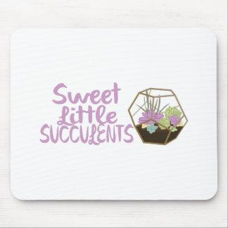 Sweet Little Succulents Mouse Pad