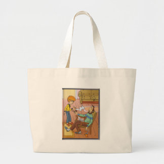 sweet live jumbo tote bag