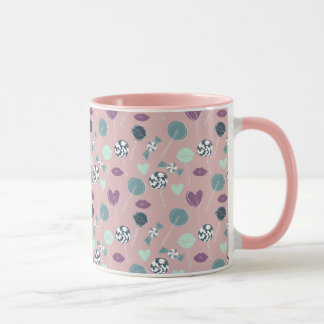 Sweet Lollipop Candy Pattern Mug
