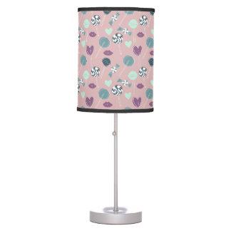 Sweet Lollipop Candy Pattern Table Lamp