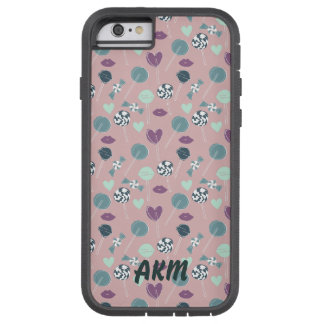 Sweet Lollipop Candy Pattern Tough Xtreme iPhone 6 Case