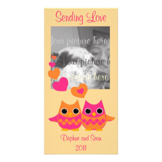 Sweet Love Owls Card